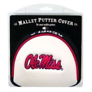 Ole Miss Rebels Mallet Putter Cover Headcover