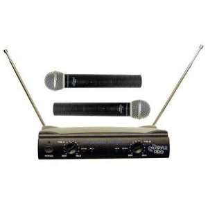 VHF Wireless Microphone by Pyle   PDWM2500 MP3 Players & Accessories