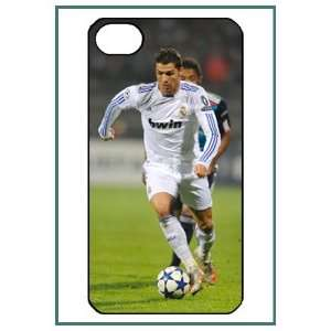 Christano Ronaldo Real Madrid Football iPhone 4 iPhone4 Black Designer