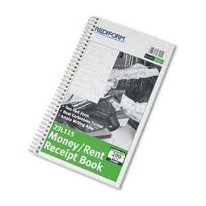 Receipt Book, 5 1/2 x 2 3/4, Two Part, 200 Sets/Book Electronics