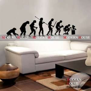 Human removable Vinyl Mural Art Wall Sticker Decal