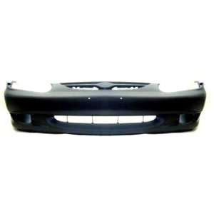 TY3 Kia Sephia Primed Black Replacement Front Bumper Cover Automotive