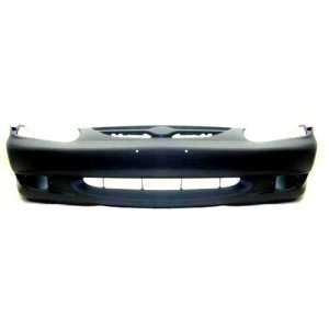TY3 Kia Sephia Primed Black Replacement Front Bumper Cover Automotive