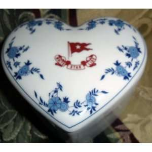 Titanic 2nd Class Heart Shaped Trinket Box Everything