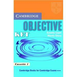 Objective KET Audio Cassette Set (2 Cassettes