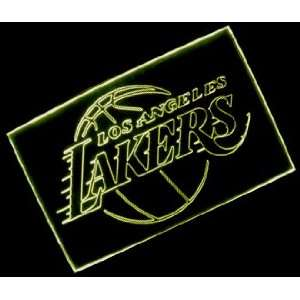 NBA Los Angeles Lakers Team Logo Neon Light Sign Sports