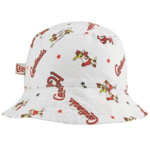 Era St Louis Cardinals Infant White Baby Bucket Hat