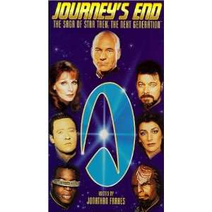 Journeys End   The Saga of Star Trek The Next Generation [VHS