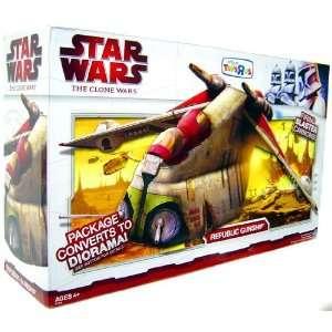 Star Wars, Clone Wars Republic Gunship Bomber  Toys & Games