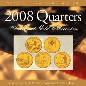 24 Kt Gold Plated Annual State Quarter Collection: Everything Else