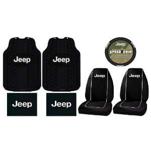 Mats Seat Covers Steering Wheel Cover Complete Combo Set Automotive