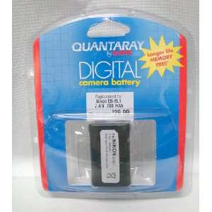 Quantaray by Sunpak Camera Lithium ION Rechargeable Replacement