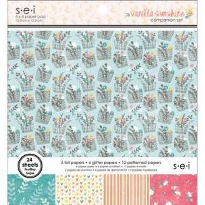 Vanilla Sunshine Collection   6 x 6 Paper Pad Arts, Crafts & Sewing