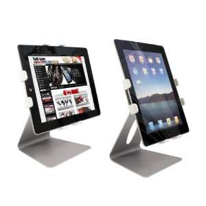 Tuff Luv Table Top Adjustable Tablet Stand   8 11 White