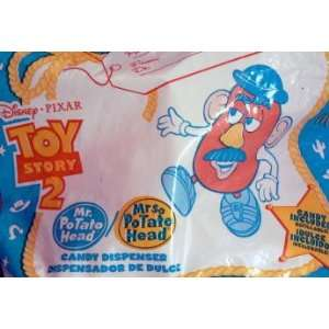 TOY Story 2 ~ McDonalds   MR + MRS POTATO HEAD Candy