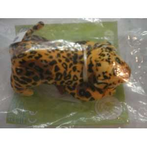Burger King 2005 Endangered Species Leopard Plush Toy