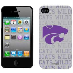 NCAA Kansas State Wildcats Full Repeat iPhone 4 Case