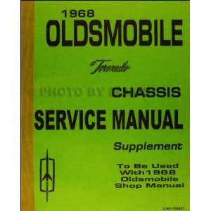 Service Manual Supplement Reprint Faxon Auto Literature Books