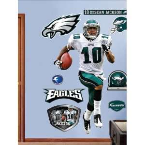 Wallpaper Fathead Fathead NFL Players and Logos DeSEan