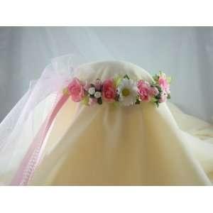 Flower Girl Wreath Bridal Headpiece Bridesmaid Kimberly