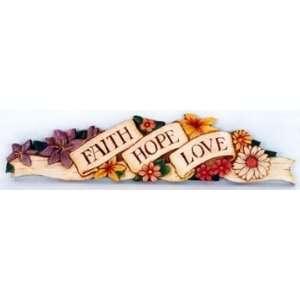 Faith Hope Love doortopper #188