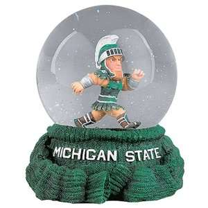 Treasures Michigan State Spartans Musical Snow Globe