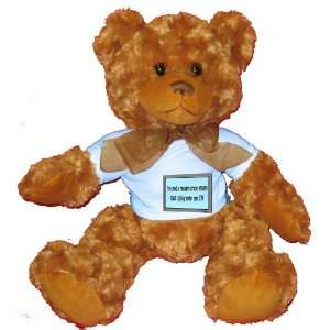 Im not a maintenance man but I play one on TV Plush Teddy