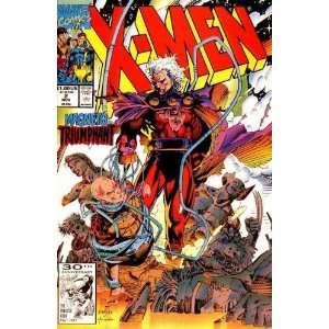 X Men Volume 1, No. 2, November 1991 Comic Book by Marvel