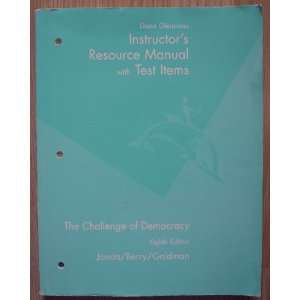 Chall Democ Irm Tb 8ed (9780618372478): Janda: Books