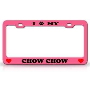 I PAW MY CHOW CHOW Dog Pet Animal High Quality STEEL