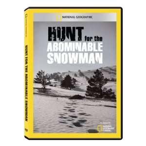 Geographic Hunt for the Abominable Snowman DVD R: Toys & Games
