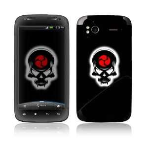 HTC Sensation 4G Decal Skin   Samurai Death Skull