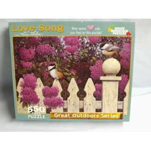 Series 550 Piece Jigsaw Puzzle Titled, Love Song Everything Else