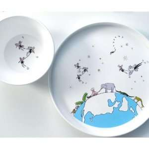 fairy fly plate with fairy fly bowl gift set Baby