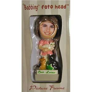 Cat Lover Bobbing Foto Head Picture Frame: Everything Else