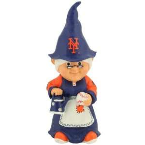 New York Mets MLB Female Garden Gnome