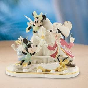 LENOX DISNEY Mickey & Friends Present Day Neverland Home