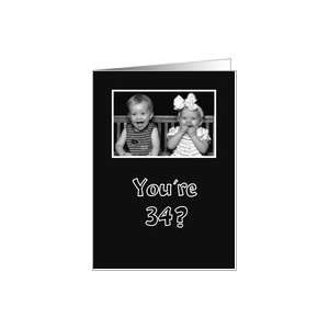 little girl and boy laughing funny black and white Card Toys & Games