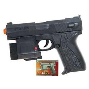 GUN PISTOL FPS 125 SIZE 6.5 MODEL NUMBER 666AF