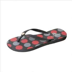 Nomad W8389Y Black/Red Womens Dots Sandal Everything