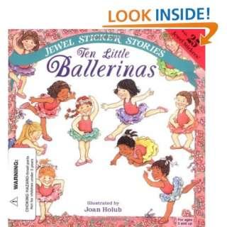 Ten Little Ballerinas (Jewel Sticker Stories