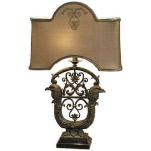 Maitland Smith Brass Eagle Table Lamp: Home Improvement