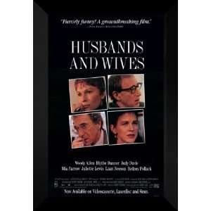 Husbands and Wives 27x40 FRAMED Movie Poster   Style B
