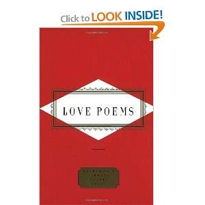 Love Poems (Everymans Library Pocket Poets
