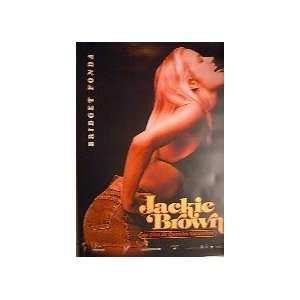 JACKIE BROWN   ADVANCE WITH BRIDGET FONDA (FRENCH ROLLED) Movie Poster