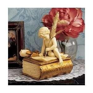 Cherub Angels Love Letter Sculptural Box Everything Else