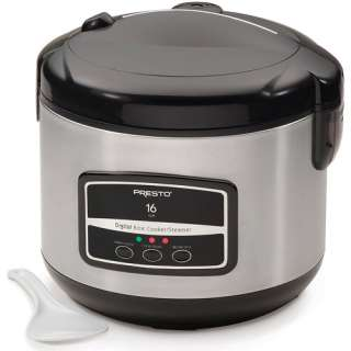 16 Cup Rice Cooker, Rice Cooker Food Steamer, Electric Rice Cooker