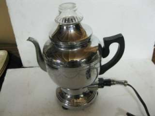 vintage electric Percolator Coffee Pot maker