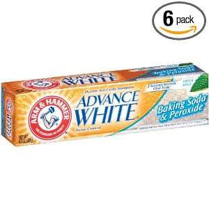 Arm & Hammer Advanced White Toothpaste, Dental Baking Soda & Peroxide