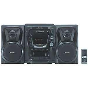 Panasonic 5 CD Compact Stereo System (SC AK100